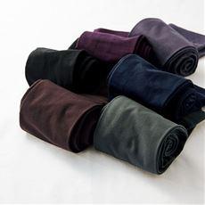 マットな質感が魅力のカラータイツ同色2足組・110デニール(静電気防止加工)