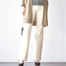 裏起毛ハイテンションブーツカットパンツ(あったか・美脚パンツ・選べる3レングス)