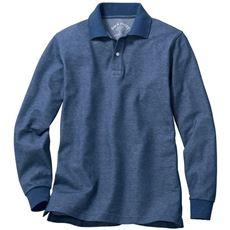 抗菌防臭・吸汗速乾・UVカット機能付き長袖ポロシャツ(嬉しいS~7L展開) 快適さを追求したニューベーシック