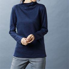 接結ウール混Tシャツ(日本製)
