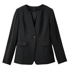 キーネックジャケット(吸汗速乾・UVカット・防しわ機能・洗濯機OK)