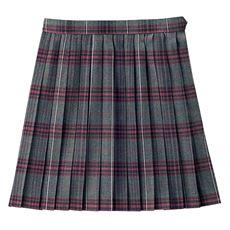 吸汗・速乾機能付き 日本製チェック柄プリーツスカート(スクール・制服)