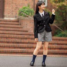 卒業式・入学式に!ショートパンツスーツ4点セット(スクール・制服)