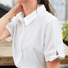 【ぽっちゃりさんサイズ】カットソーシャツ(半袖)(UVカット・抗菌防臭・吸汗速乾)