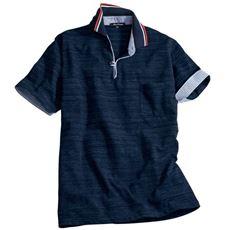 ベストセラー ドライ・スキッパー風デザインポロシャツ