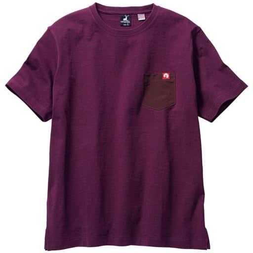 綿100%胸ポケット付きTシャツ(キャプテンスタッグ)