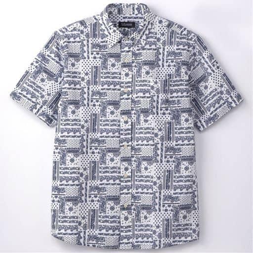 綿100%ボタンダウンシャツ(UPレノマ)