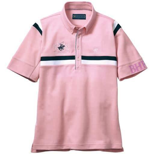 ドライ胸刺繍ポロシャツ(ビバリーヒルズポロクラブ