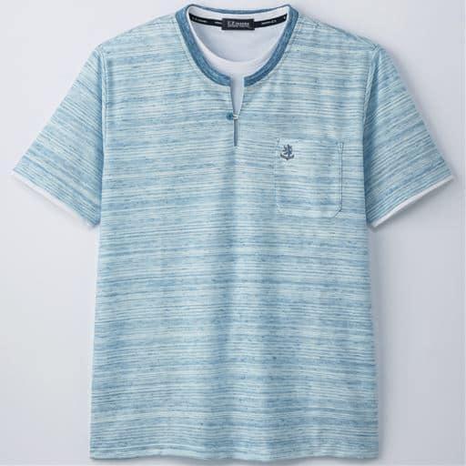 フェイクレイヤードデザインTシャツ(UPレノマ)