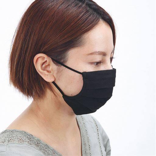 洗えるマスク(抗菌防臭・接触冷感・2枚組)