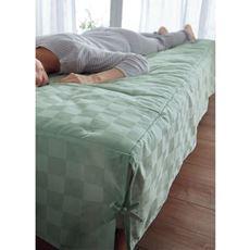 置くだけパッド付きベッドシーツ(ホテル感覚の高密度タイプ)