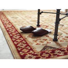 【スペイン製】ウィルトン織ラグ (アビー) 豪華上質高密度 円形長方形サイズ