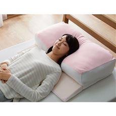 寝返りしやすい枕(肩がのせられて楽々)