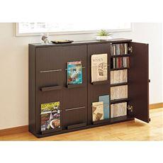 薄型ディスプレイ書棚