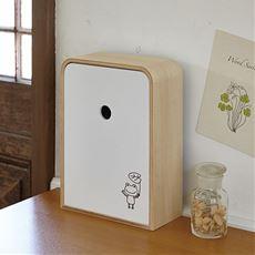 木製玄関キーボックス