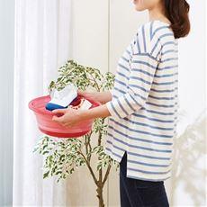 洗面器にもなる たためる洗い桶