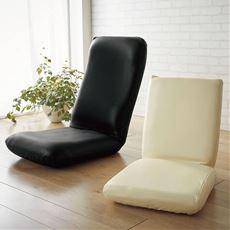 座椅子カバー(レザー調のストレッチ生地)のびるんフィット 伸縮生地で装着脱着簡単 拭くだけ簡単お手入れ チェア対応