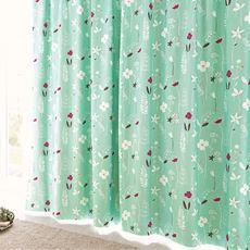 遮熱・安眠1級遮光裏地付きプリントカーテン