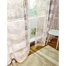透け感のあるデザインボイルカーテン