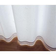 〔形状記憶付き〕UVカット遮熱ミラーレースカーテン