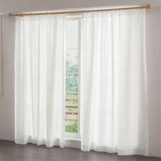 〔形状記憶付き〕窓の結露対策におすすめ!抗菌防カビ・ミラーレースカーテン