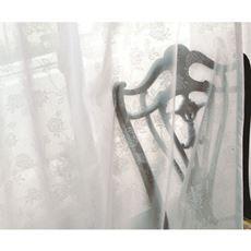 UVカット防炎ミラーレースカーテン