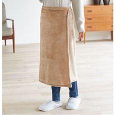 吸湿発熱3WAY巻きスカート<美活計画>