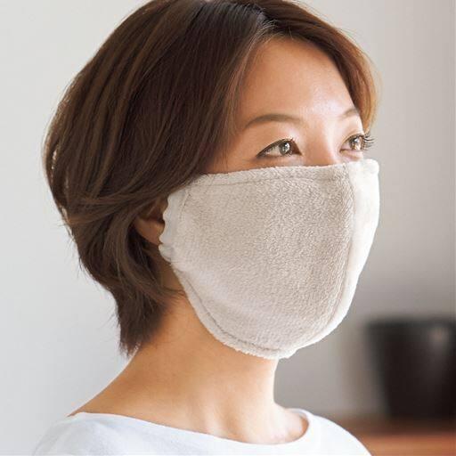 吸湿発熱暖かマスク(2枚組)<美活計画>