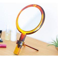 手鏡にもなる2way拡大メイクミラー