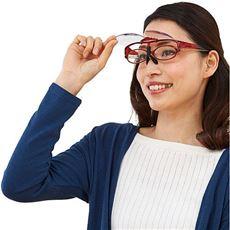 跳ね上げメガネ式拡大鏡1.6倍