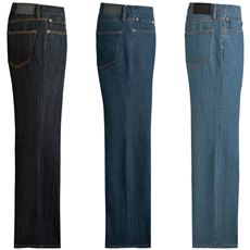 裾上げ済みストレッチジーンズ(色違い3枚組)