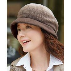 軽くてふんわりこだわりウール帽子