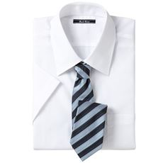 形態安定ビジネスシャツ(半袖)