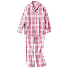 ビエラシャツパジャマ(綿100%)