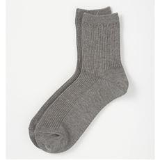 ファミリーソックス・同色3足組(家族ではける定番靴下 21cm~27cm)(ロークルー丈)