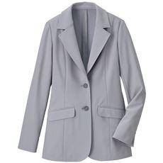 【ぽっちゃりさんサイズ】ハイテンションロングジャケット(日本製生地)
