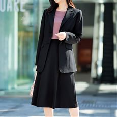 Aラインスカート(吸汗速乾・UVカット・防しわ機能・洗濯機OK)