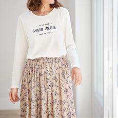 クルーネックTシャツ(長袖)
