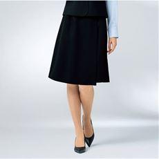 キュロットスカート(温度調整機能裏地付き)(事務服・洗濯機OK)(防汚加工・撥水)