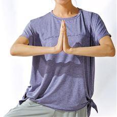 裾リボンTシャツ(BODY GLOVE)(吸汗速乾・UVカット)