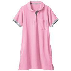 チュニックポロシャツ(吸汗速乾・抗菌防臭)