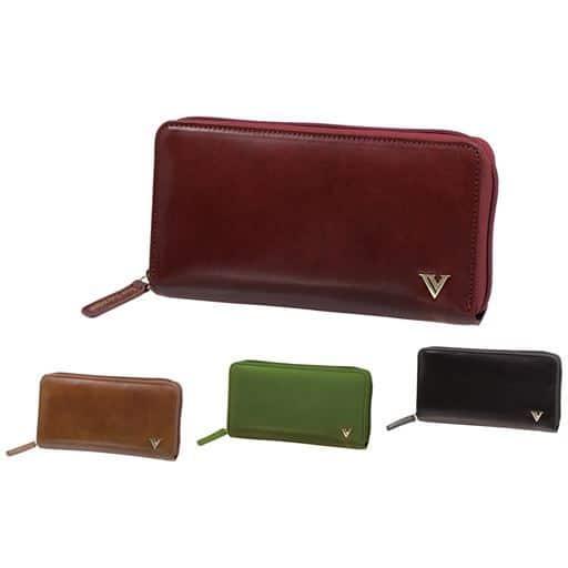 アイザック・バレンチノ コインが分けられる長財布