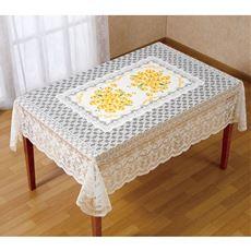黄色い胡蝶蘭テーブルクロス