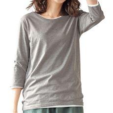 シンプルTシャツ(七分袖)