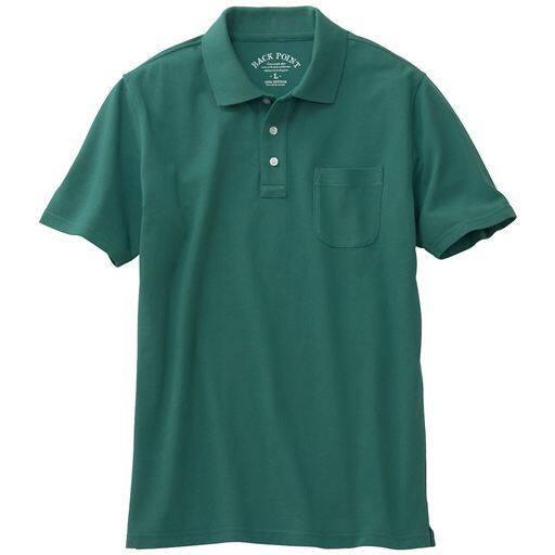 綿100%ポロシャツ・半袖(S~7L)