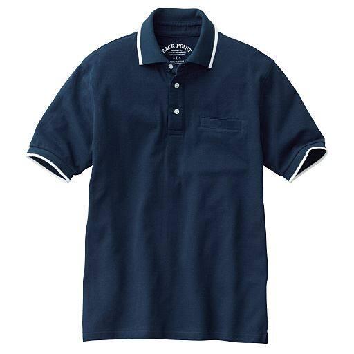 ドライ・綿100%ポロシャツ(半袖)