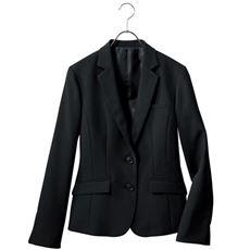 テーラードジャケット(事務服・洗濯機OK・撥水・形態安定・防汚加工・ストレッチ素材)