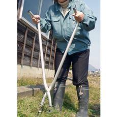 可変式立作業用草刈りハサミ