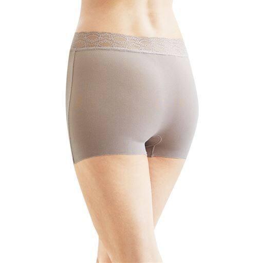 足口軽やかすっきり決まる カットオフ素材のショーツ(はきこみ丈スタンダード)