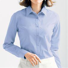 形態安定レギュラーカラーシャツ(長袖)(UVカット・抗菌防臭・洗濯機OK・部屋干しOK)